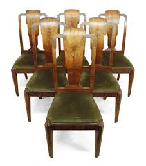 beautiful art deco dining room chairs photos home design ideas