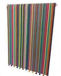Colourful Roller Blind Bathroom The Stripes Company Striped Fabrics Stripe Deckchair Fabrics