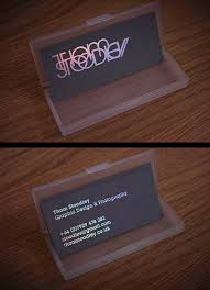 Custom Holographic Business Cards Awesome Holographic Business Cards Best Business Card Inspiration