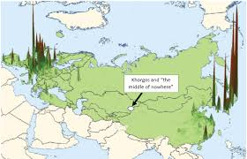 middle east map kazakhstan how the middle of nowhere could become a major trade corridor