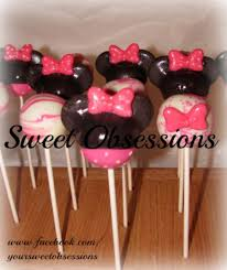 themed cake pops pink minnie mouse theme cake pops cakecentral