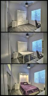 Bedroom Wall Hide A Bed Best 25 Bedroom Office Combo Ideas On Pinterest Small Bedroom