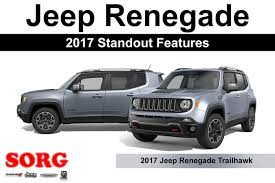 jeep renegade stance 2017 jeep renegade standout features sorg dodge