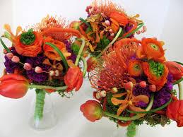 purple and orange wedding ideas worcester florists sprout modern purple and orange wedding