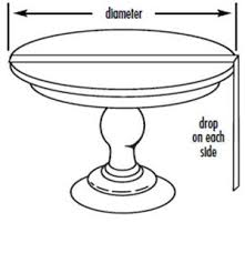 How To Make A Round End Table by How To Make A Round Tablecloth Favecrafts Com