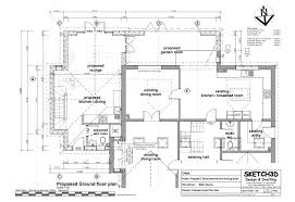exle of floor plan drawing breathtaking single storey house plans uk pictures exterior ideas