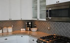 design astonishing herringbone subway tile backsplash kitchen