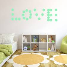 online shop diy luminous wall stickers fluorescent home decoration online shop diy luminous wall stickers fluorescent home decoration night light bedroom kid children room round wall decals switch aliexpress mobile