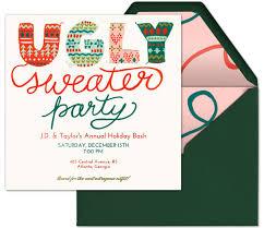 sweater invitations templates free all invitations ideas