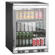 glass door coolers for sale amazon com 1 door front venting full stainless steel bar fridge
