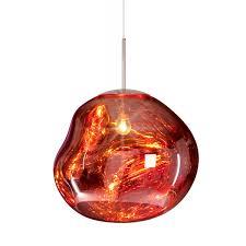 Wohnzimmerlampe Kupfer Melt Pendelleuchte Von Tom Dixon Im Shop