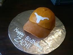 texas longhorns hat birthday cake longhorns pinterest texas