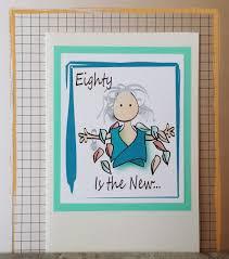 80th birthday card milestone birthday card