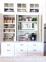 kitchen cabinet desk ideas garage kitchen cabinet