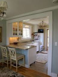 Knockdown Kitchen Cabinets Maybe Do This If We Knock Down That Wall In The Kitchen Dining