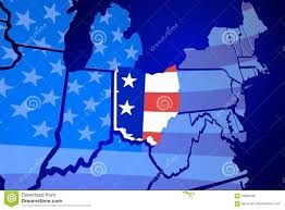 State Map Usa by Reference Map Of Ohio Usa Nations Online Project Colorful Map Of