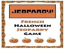 french halloween game and resource bundle halloween français by