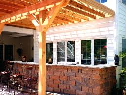 patio ideas style selections fruitwood light filtering bamboo