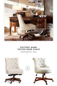 pottery barn desk chair pottery barn swivel desk chair copycatchic