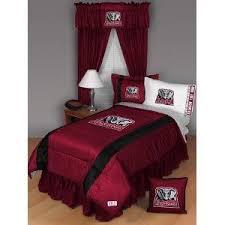 Alabama Bed Set Alabama Crimson Tide Comforter And Curtains Set Lovetoknow