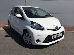 used toyota aygo cars for sale motors co uk