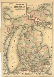 Michigan Casinos Map by Charlevoix Michigan Wikipedia