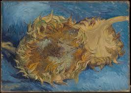 halloween background art 1950 vincent van gogh sunflowers the met