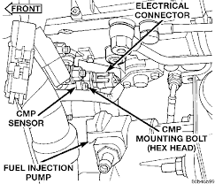 i need a wiring diagram that shows where the cam and crank sensor
