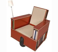 Bookshelf Chair Space Saving Bookshelf Chairs