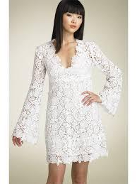 wedding trend ideas lace sleeve wedding dress
