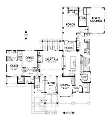 craftsman style house plan 4 beds 4 baths 4271 sq ft plan 48