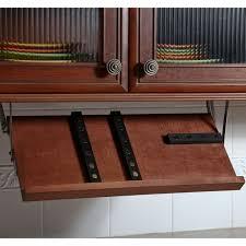 Under Cabinet Knife Holder by Under Cabinet Knife Storage Storage Designs