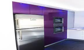 cuisine violette portico design cuisine