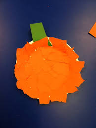arts and crafts preschool pumpkin for toddlers halloween