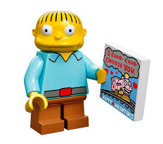simpsons valentines day card lego simpsons minifigures series photos fully revealed 71005