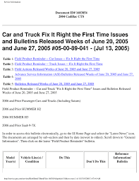 car and truck fix it right the first time issues