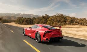Toyota Ft 1 Engine Toyota Ft 1 Concept Car Gives Us Supra Dreams At 2014 Naias