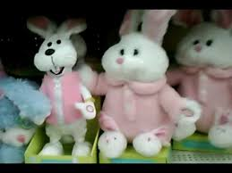 stuffed bunnies for easter singing easter sutffed animals
