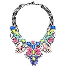 coloured statement necklace images Colorful statement necklaces jpg
