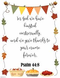 thanksgiving quotes from bible make a free poster