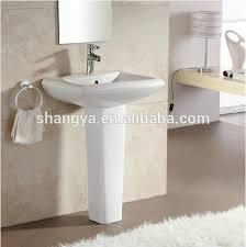 Pedestal Sink Sale Sale Sanitary Ware Bathroom Pedestal Basin Ceramic Hand Wash