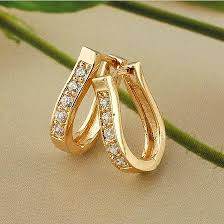 simple ear rings simple gold earrings for women