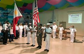 Filipino Flag Colors File Us Navy 060815 N 9851b 003 A Philippine Navy Color Guard