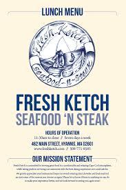 fresh ketch seafood u0027n steak restaurant main street hyannis ma
