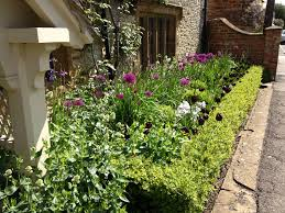 front house landscape ideas flower bed for of garden trends