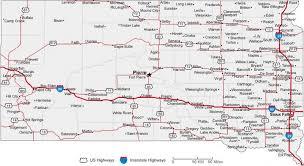 south dakota road map south dakota state road map with census information
