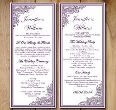Wedding Blessing Words Wedding Order Template U2013 35 Free Word Pdf Psd Vector Format