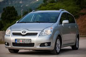 toyota corolla verso toyota corolla verso manual rent a car montenegro rent a car budva