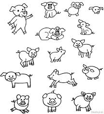 rakhi coloring pages pig and piglet coloring pages