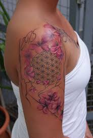 Tattoo Wie Lange Nicht Baden 25 Einzigartige Lebensblume Tattoo Ideen Auf Pinterest Dotwork